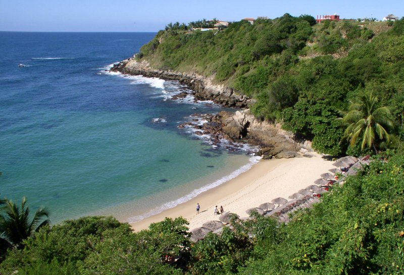 Puerto Escondido Surf Carazillio beach