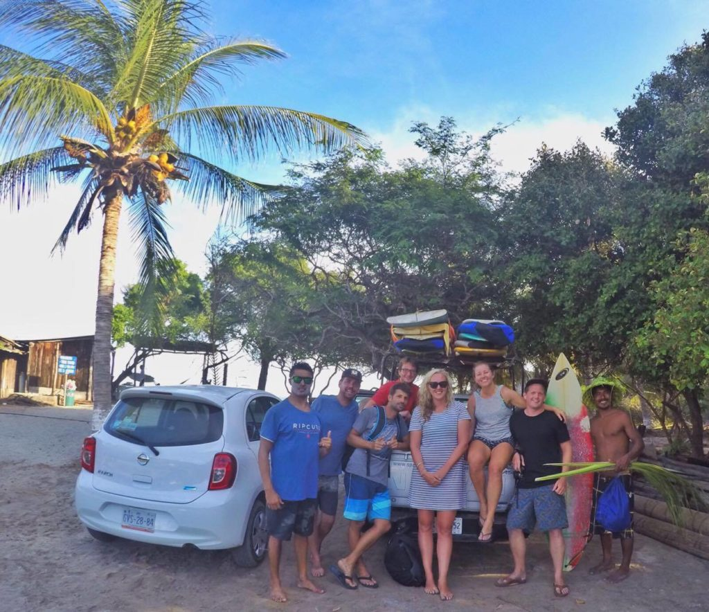 Puerto Escondido Surf trip with the gang at Oasis