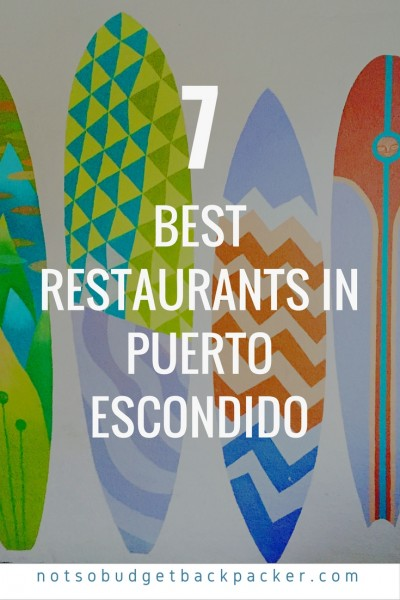 Best restaurants in Puerto Escondido - Pin