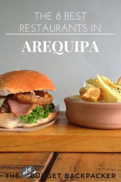Best restaurants in arequipa - pinterest
