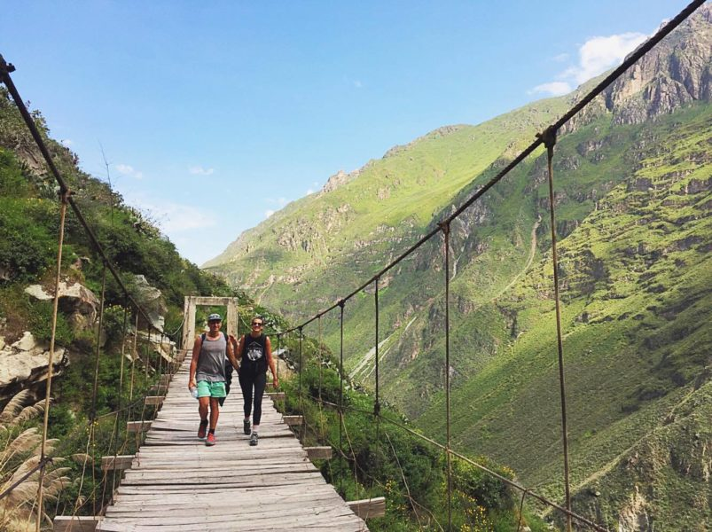 Colca Canyon tour - bridge