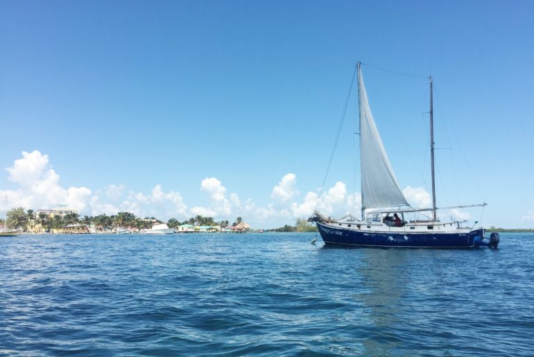 Thing to do in Caye Caulker - boat