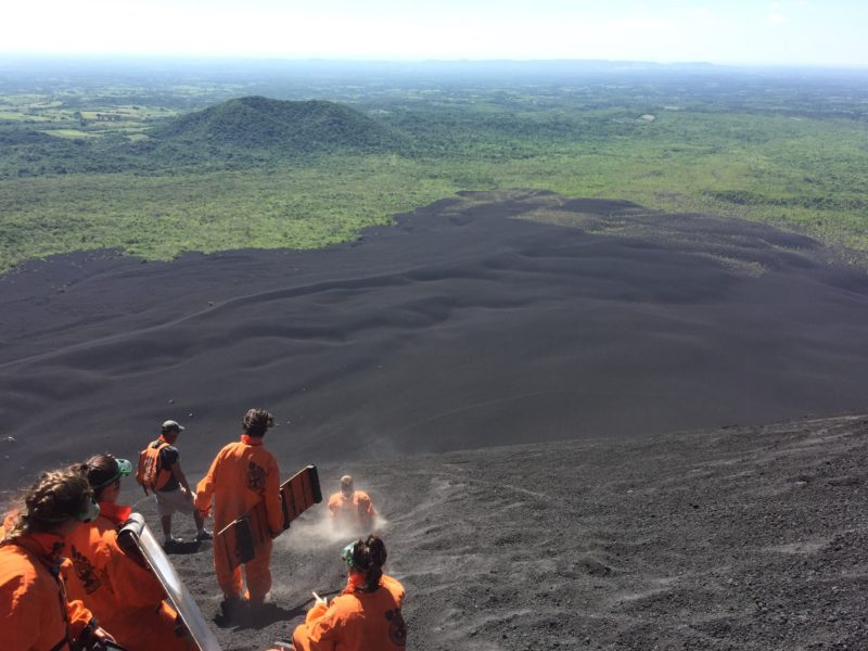 Things to do in Leon Nicaragua - Volcano boarding