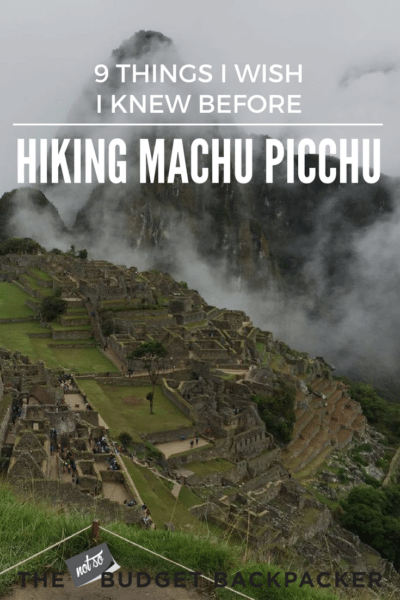Hiking machu picchu - pinterest design 2-2