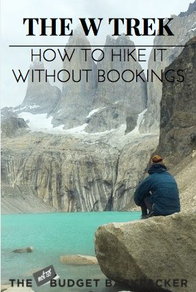 Hiking the W Trek without bookings - PIN