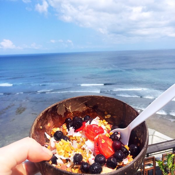where to get your coffee fix in Bali - Nalu acai bowls