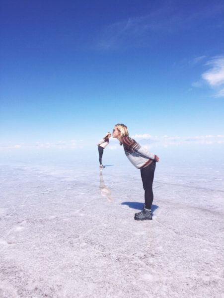 Uyuni salt flats - kisses