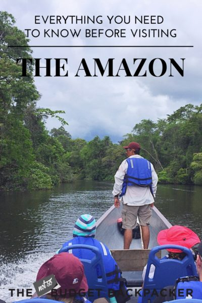 Amazon in Ecuador - pinterest