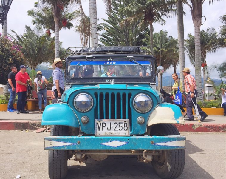 Things to do in Salento Colombia - take a ride in a vintage jeep