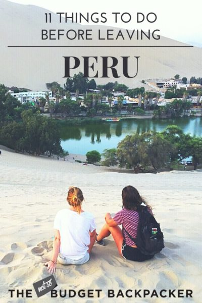 Things to do in Peru - pinterest