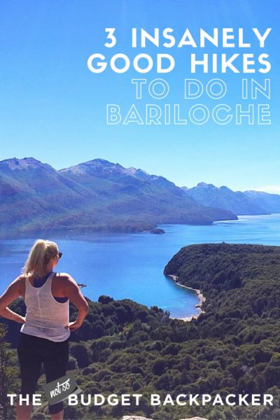 hiking in Bariloche - Pinterest