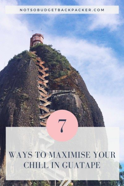 What to do in Guatape Colombia - pin