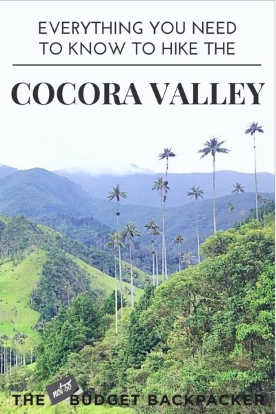 Cocora Valley hike Valle De Cocora Hike - pinterest