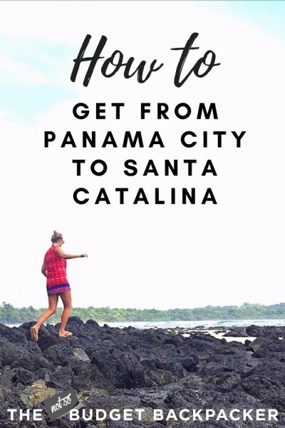 Panama to Santa Catalina - pin