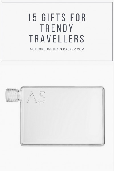 Christmas gifts for backpackers - pin
