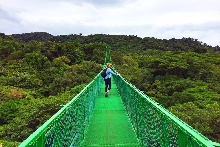 Top Things to do in Monteverde Costa Rica - Hanging bridges 2