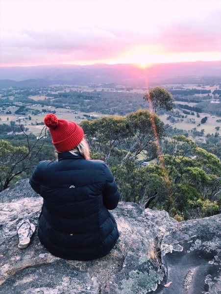 Things to do in the Blue Mountains - Sunset from Mt York Lookout