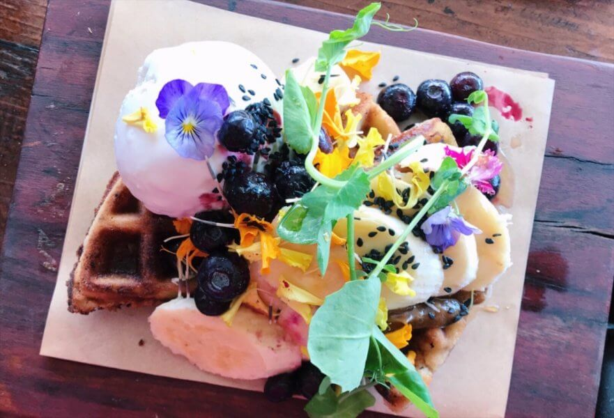 Byron Bay Activities - Waffles at The General Store - Where to eat in Byron Bay