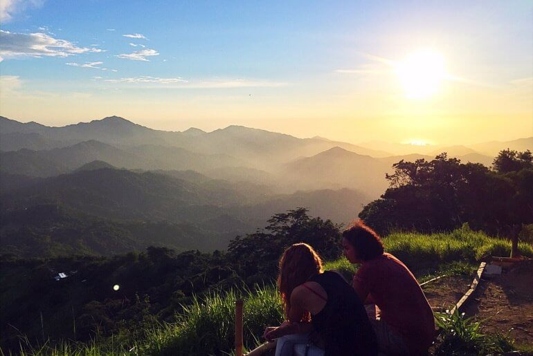 Things to do in Minca Colombia - Girls sunset